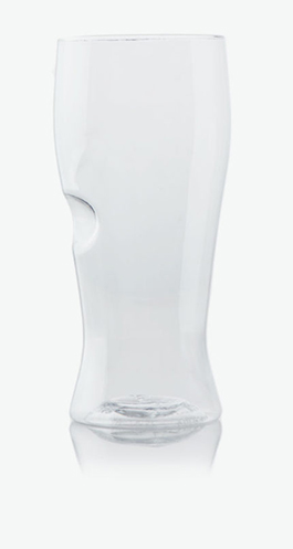 best top quality unbreakable beer half pint glass