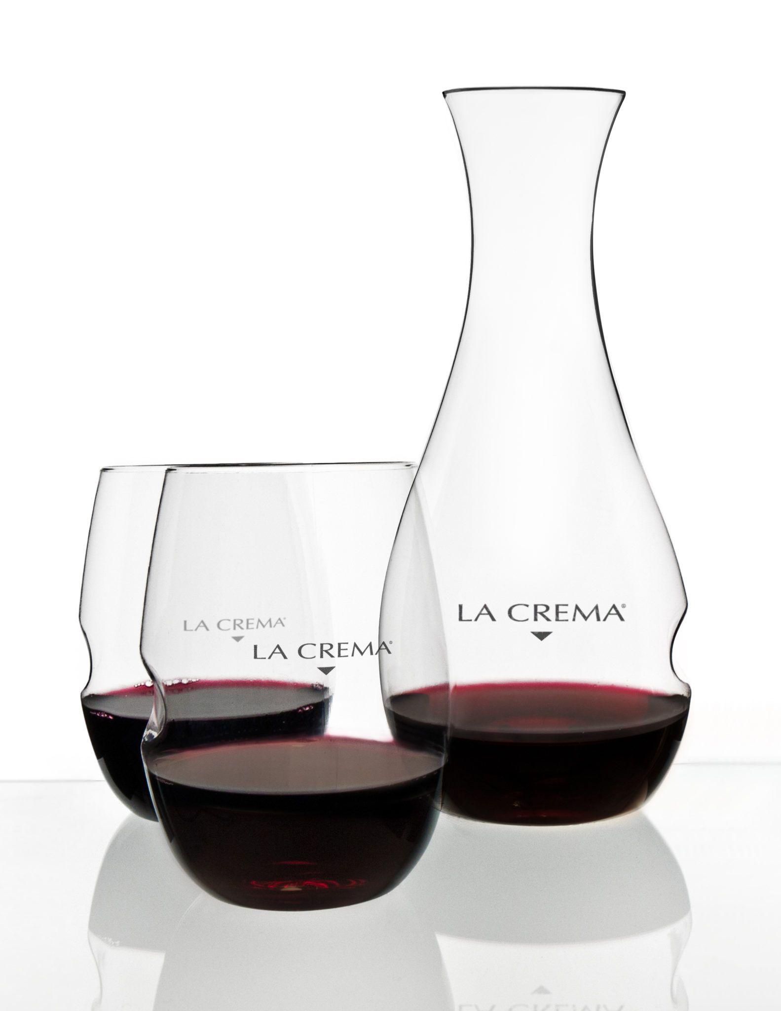 top quality la crema decanter red wine glass