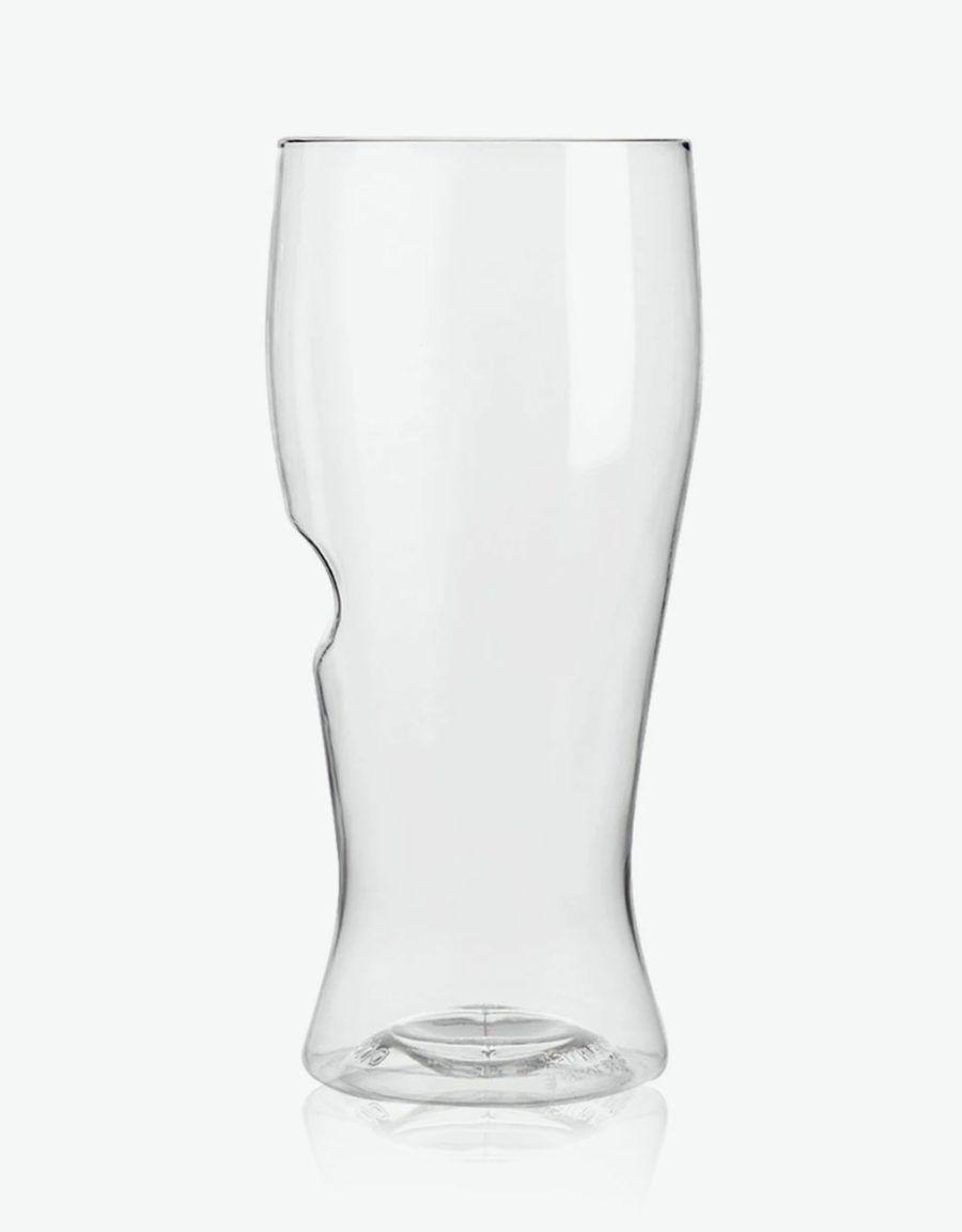 break proof beer glass pint half 16oz